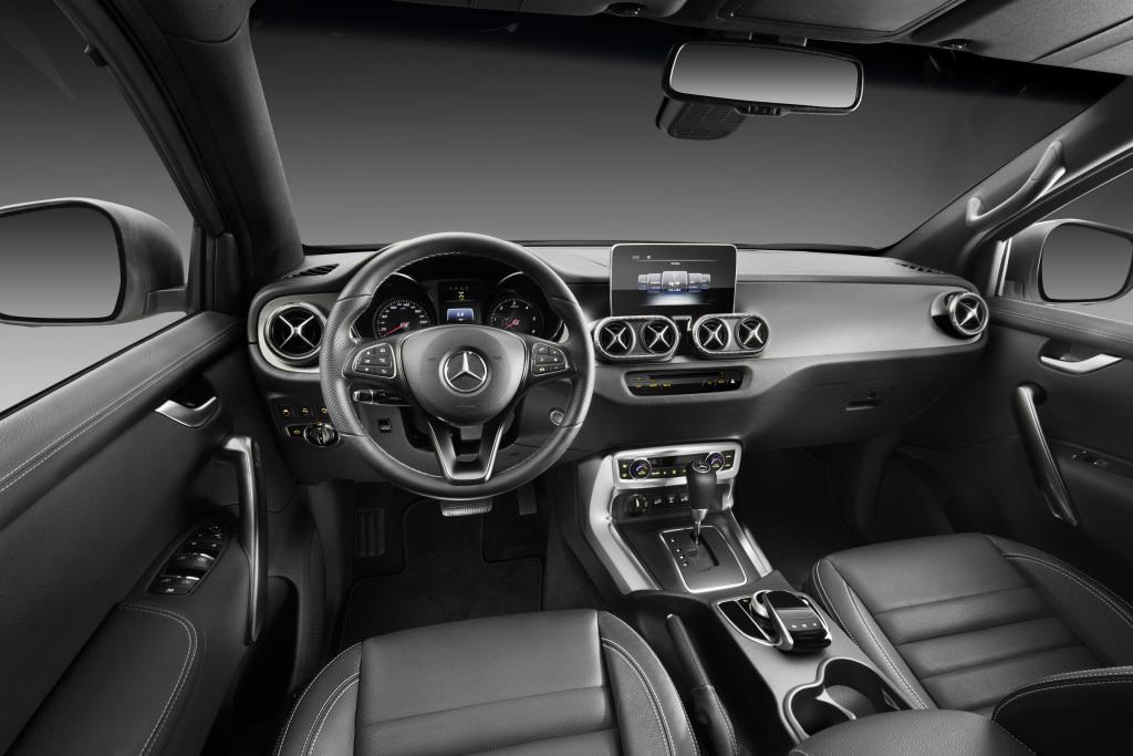 Interieur mercedes  Mercedes-Benz X-Klasse – Power Interieur - Benzin Magazin