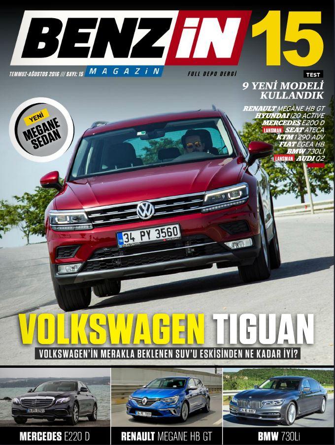 Benzin Magazin Ağustos 2016 Sayısı